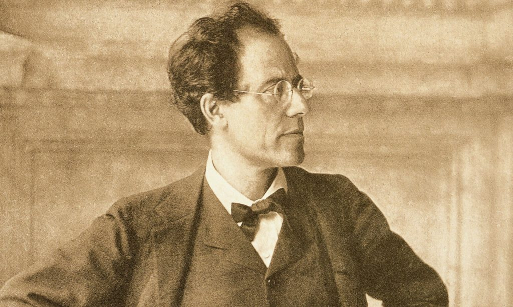 Mahler in the foyer of the Vienna Court Opera